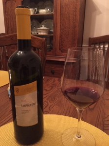 A racy wine, that really knows how to finish 1999 Lamborghini Campoleone.