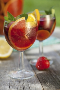 Iced Mulled wine