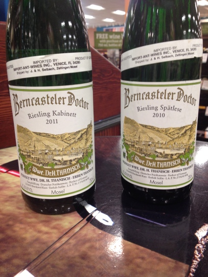 thanisch riesling and spatlese