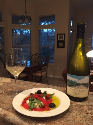 """The 2009 Catena Zapata """"White Bones"""" Chardonnay...a gorgeous wine."""