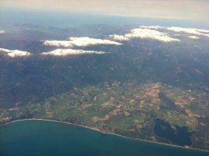 Corsica from the air