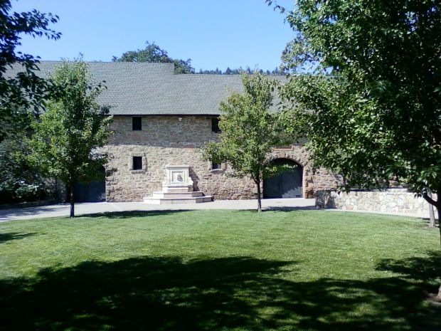 The old stone winery at Freemark Abbey