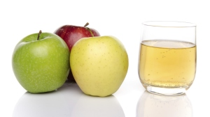 Cider with three sorts of apple