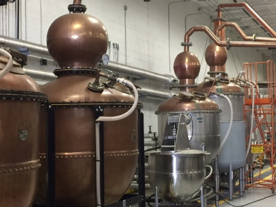 copper pot stills