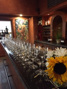 The tasting room at Bergevin Lane