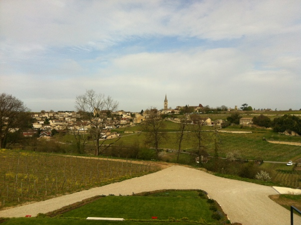 St. Emilion as seen from Pavie-Macquin