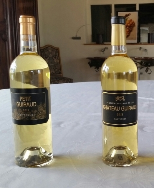 Le Petit Guiraud 2012 and 2011