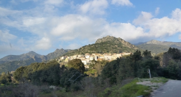 Corsica mountain village (1)