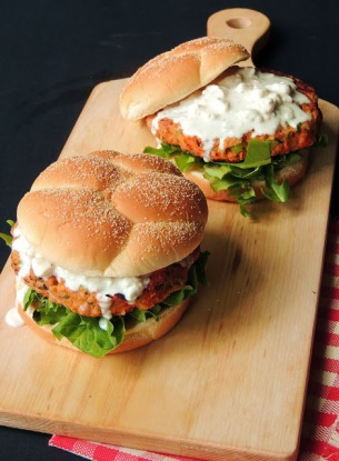 Buffalo Chicken Burger 4.JPG