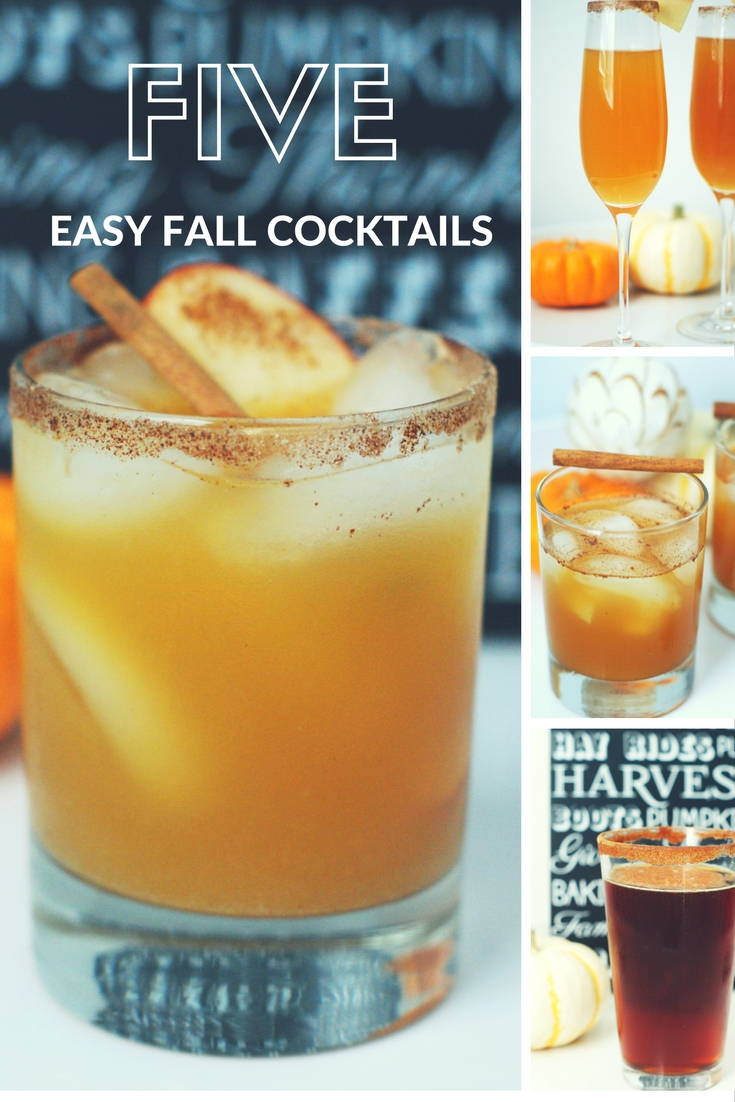 5 easy fall cocktails